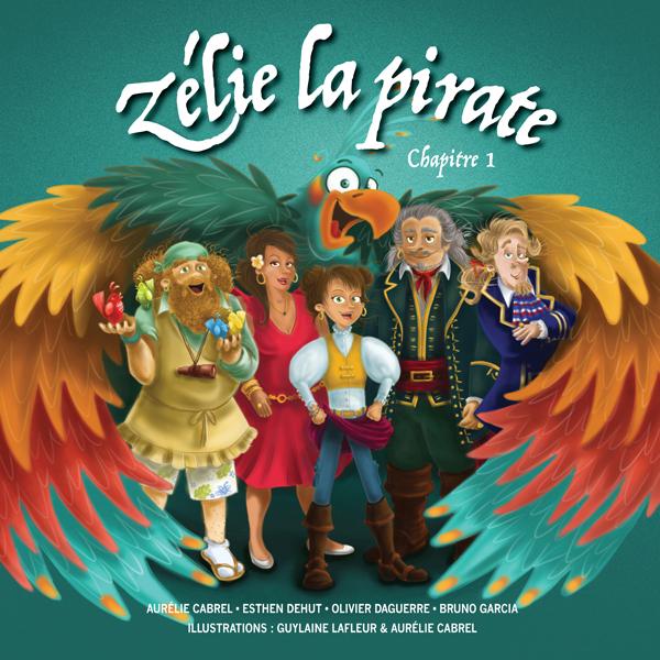 Livre audio: Zélie La Pirate